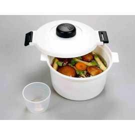 【福介生活館】微波保鮮盒~微波雙層湯鍋/煮飯鍋/燉鍋~