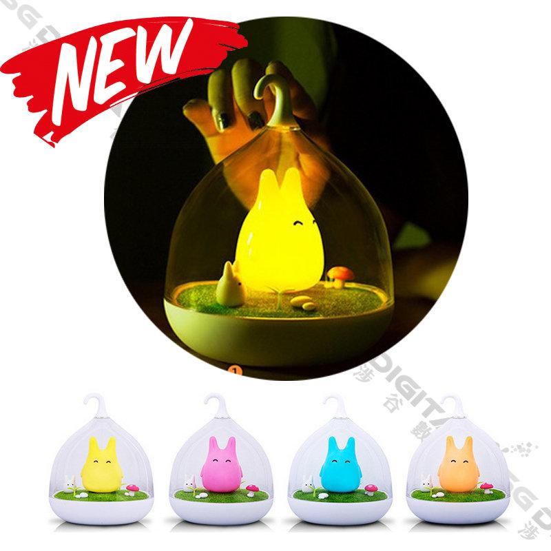 原廠授權正品  夜光精靈夜燈 LED感應氛圍觸碰調光充電便攜隨手燈LED檯燈 露營燈  小夜燈