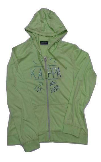 [陽光樂活] KAPPA 女款 長袖連帽外套  FC52-C310-4 嫩芽綠