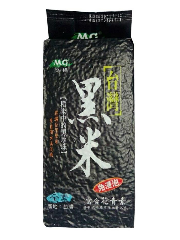 【清新自在樂活生機館】台灣正宗黑米-600g