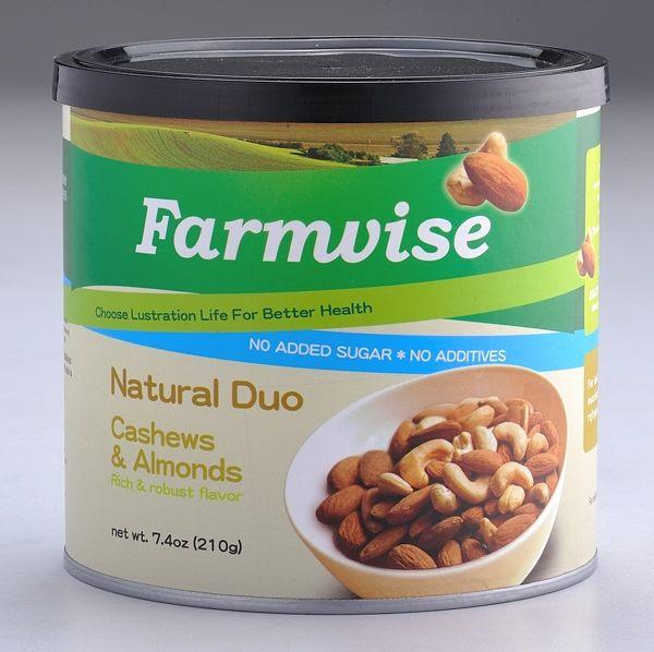 現折再買一送一 清淨生活 農場智慧 腰果、杏仁果210g (原價$998-特價$449)含不飽和脂肪酸
