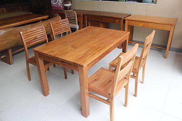 【石川柚木】WF-31 100% 柚木4.35尺 餐桌 另有 5尺 6尺 全實木 歡迎鑑賞