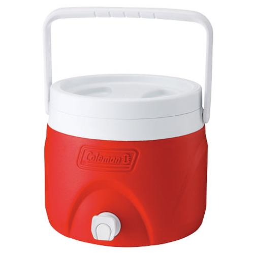 Coleman 置物型飲料桶/冰桶/冷飲桶/可堆疊 CM-1362J紅 7.6L/台北山水