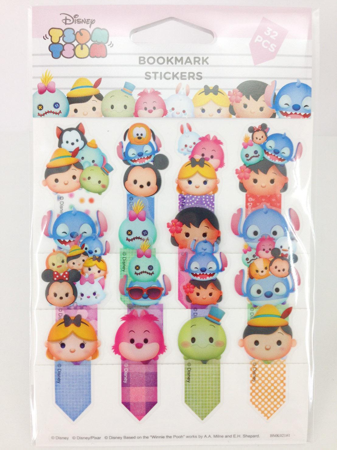 【真愛日本】16033000032TSUM書籤貼紙-史迪奇    迪士尼 星際寶貝 史迪奇文具 正品 限量