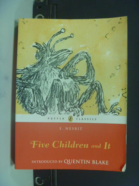 【書寶二手書T1/原文小說_OIJ】Five Children and It_Nesbit, Edith