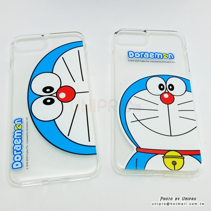 【UNIPRO】iPhone7 PLUS 5.5吋 哆啦A夢 TPU 手機殼 軟殼 小叮噹 Doraemon 正版授權 i7+