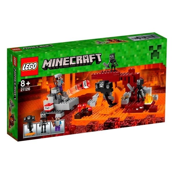 【LEGO 樂高積木】Minecraft 創世神系列 - The Wither LT-21126