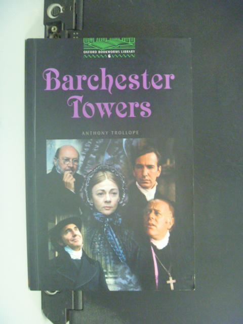 【書寶二手書T1/原文小說_LQY】Barchester Towers_Clare West