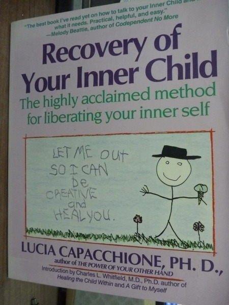 【書寶二手書T8/心理_PHJ】Recovery of Your Inner Child_Lucia