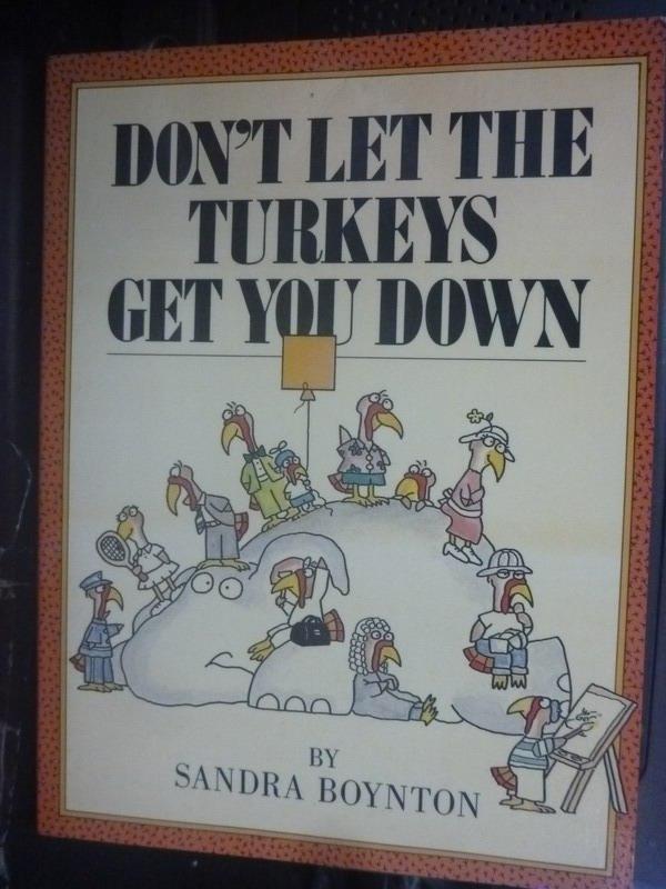 【書寶二手書T2/少年童書_IEV】Don't Let the Turkeys Get You Down