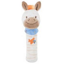 Nattou - 絨毛造型柱型bibi玩偶/亞瑟