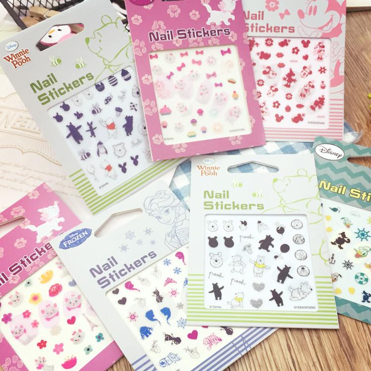 PGS7 日本迪士尼系列商品 - 迪士尼 系列 造型 指甲貼 美甲 指甲貼紙 Nail Stickers 冰雪奇緣 / 奇奇蒂蒂