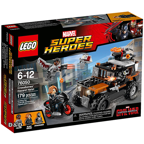 樂高積木 LEGO《 LT76050 》SUPER HEROES 超級英雄系列 - Crossbones Hazard Heist