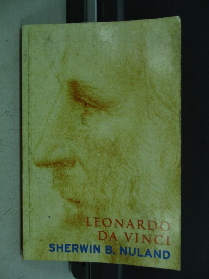 【書寶二手書T2/傳記_KPZ】Leonardo Da Vinci_Sherwin B. Nuland