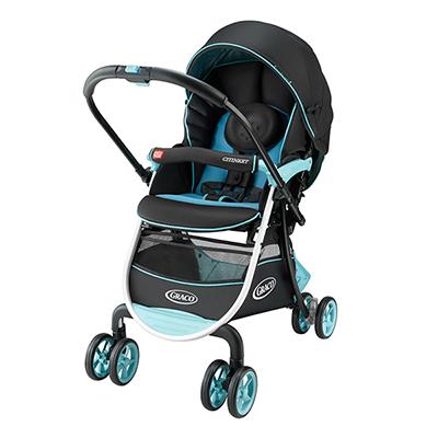 【悅兒樂婦幼用品舘】Graco 購物型雙向嬰幼兒手推車豪華休旅 CITINEXT CTS-藍色公路