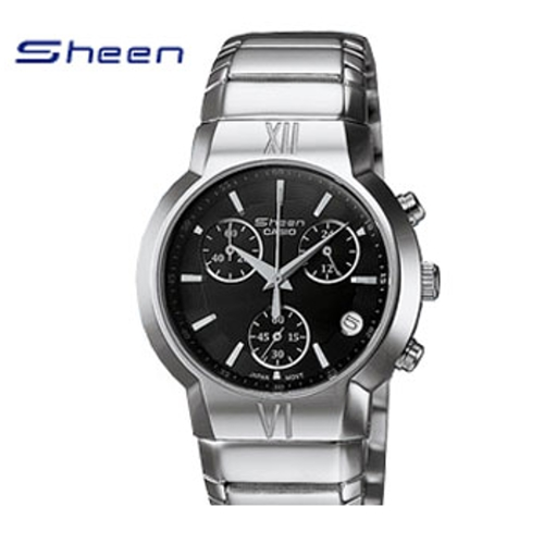 CASIO/SHEEN/優雅氣質女錶/黑/SHN-5001D-1AVDF