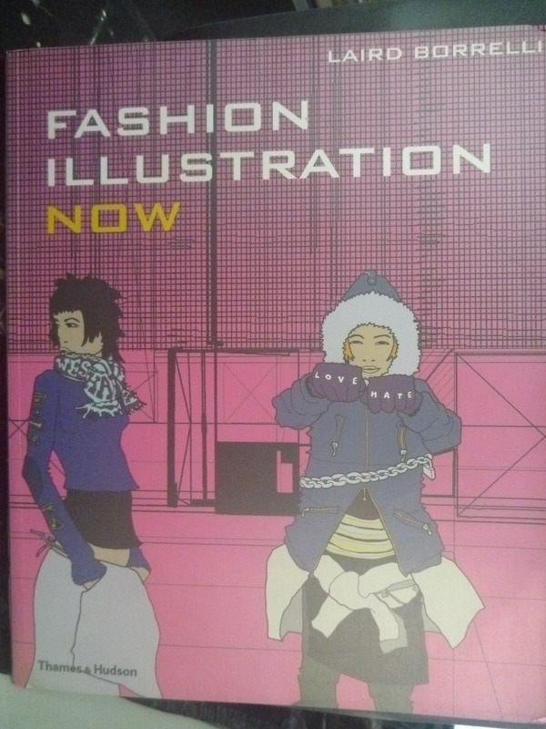 【書寶二手書T9/廣告_ZDC】Fashion illustration now