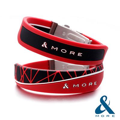 &MORE愛迪莫鈦鍺 X-Force極限 負離子運動手環(8款顏色 16種風格變化)_采靚鞋包精品
