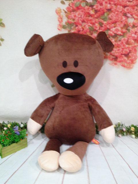 ~*My 71*~  絨毛娃娃牌  25吋 豆豆熊  豆豆先生的 泰迪熊 玩偶 卡通 豆豆先生  大型玩偶 兒童 玩具 禮物