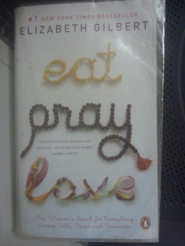 【書寶二手書T7/原文小說_HAJ】Eat, Pray, Love_ELIZABETH