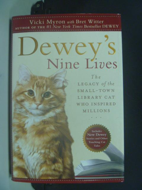 【書寶二手書T4/原文小說_HKD】Deweys Nine Lives _Vicki