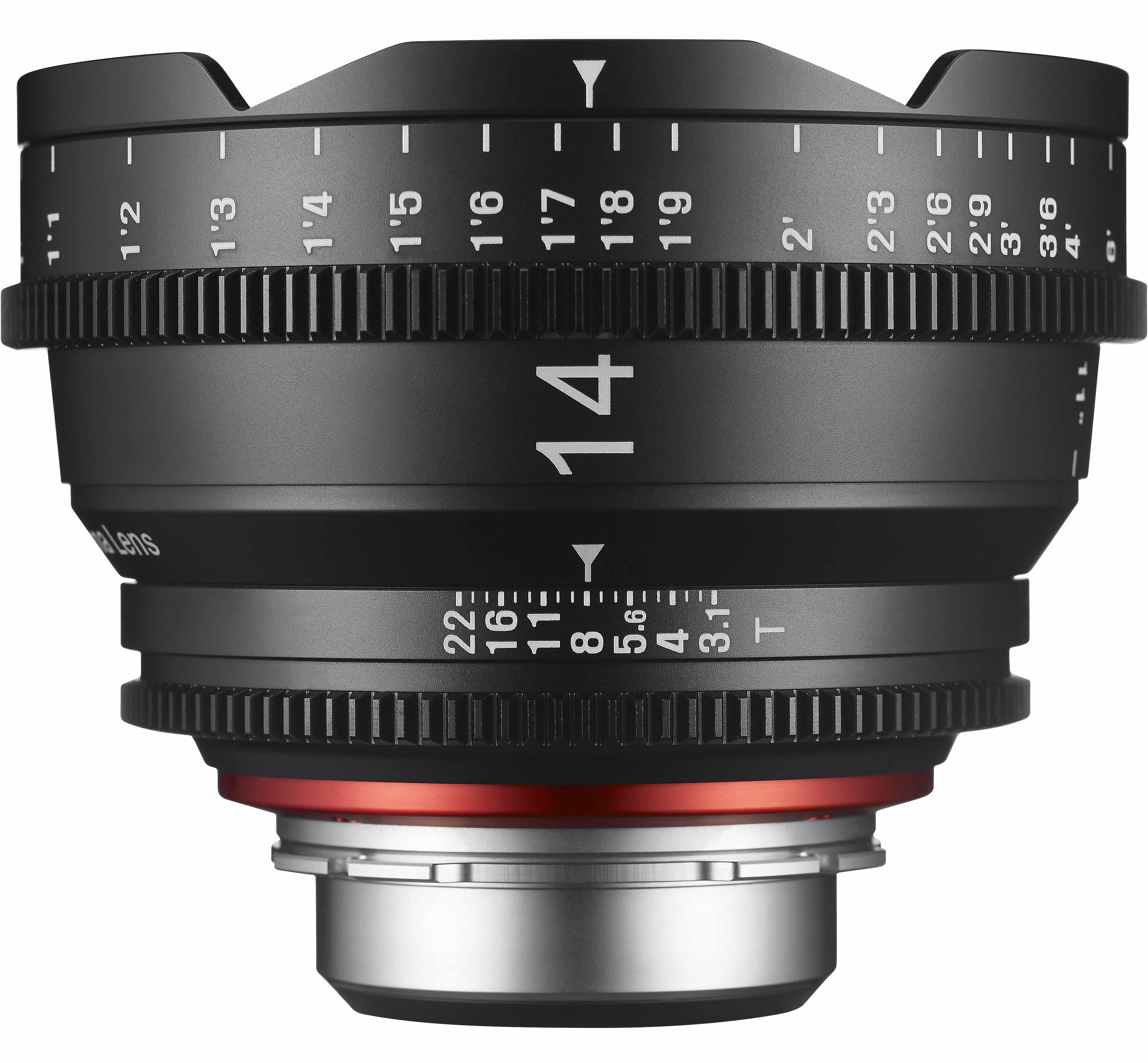 Samyang XEEN電影鏡頭專賣店:14mm/T3.1