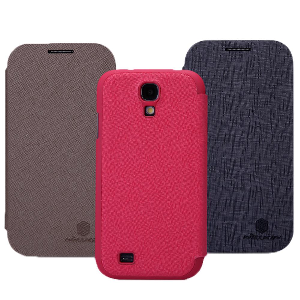 ☆三星Samsung S4 i9500【NILLKIN  新皮士】格調系列 側翻可立式皮套 保護皮套【清倉】