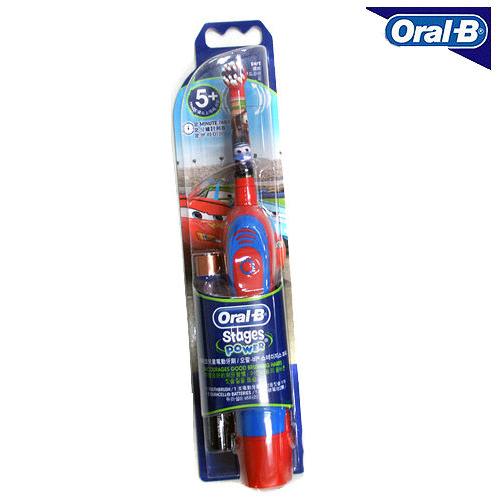 德國百靈 歐樂B 兒童式 電池式電動牙刷