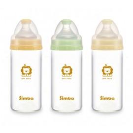 Simba小獅王辛巴 - 超輕鑽寬口直圓玻璃小奶瓶 180ml