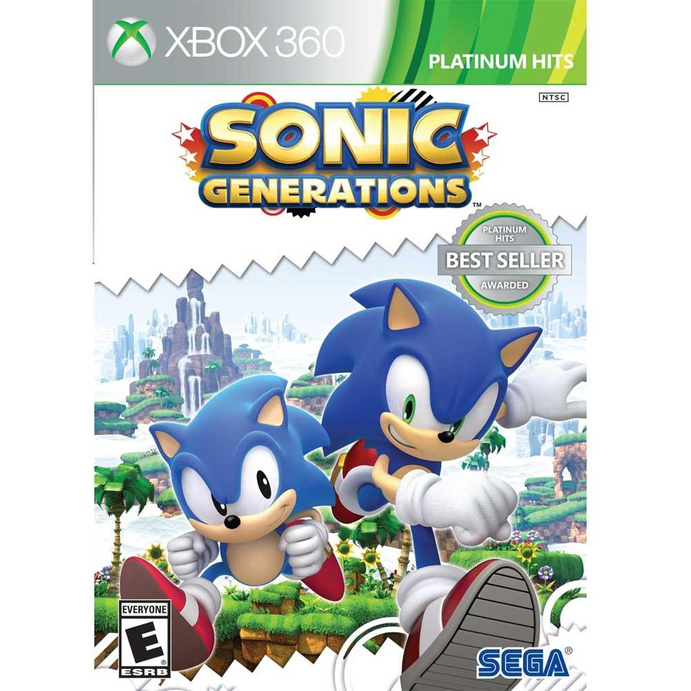 (現貨二手)XBOX360 音速小子:世代 純白時空 英日文美版 Sonic:Generations