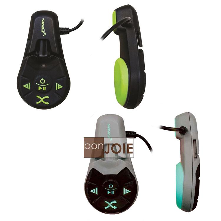 ::bonJOIE:: 美國進口 最新款 Finis Duo Underwater MP3 Player 4GB 防水隨身聽 (黑綠、灰藍二款可選) 骨傳導 水中 音樂播放器 游泳
