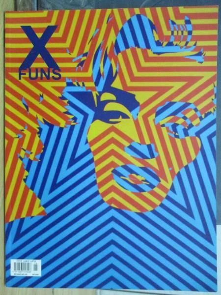 【書寶二手書T1/設計_WGF】Xfuns放肆創意設計_2006/10_耍個性:街巷弄藝等_附光碟