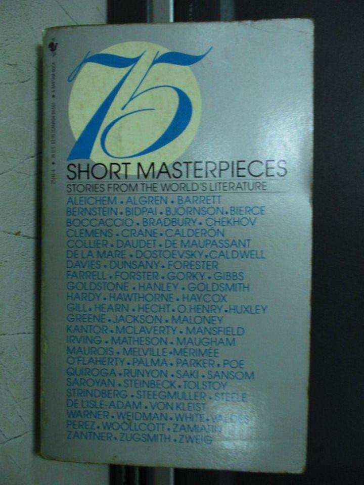 【書寶二手書T4/原文小說_LOU】75Short masterpieces_Roger Goodman