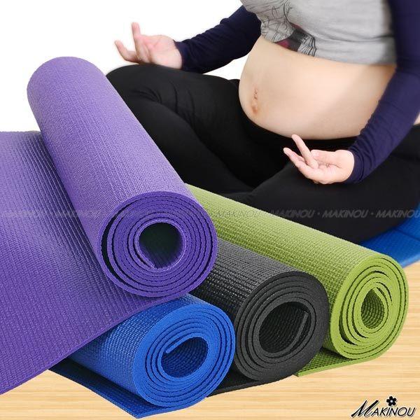 團購熱銷 日本MAKINOU3mm輕鬆運動瑜珈墊-台灣製|日本牧野 地墊 野餐墊 孕婦放鬆身心塑身 美體 MAKINO