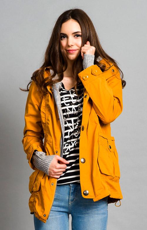 【ET BOiTE 箱子】2件式軍裝內毛衣外套