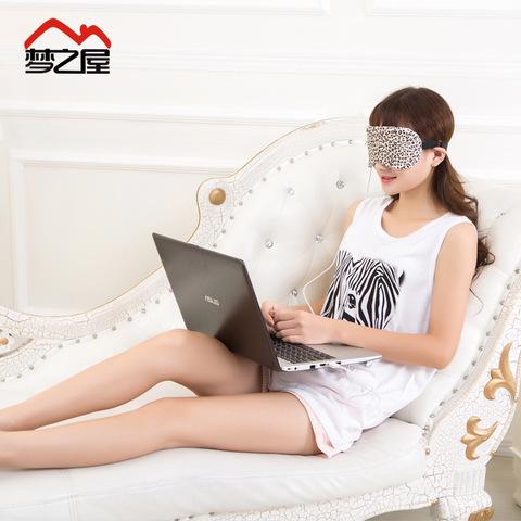 USB熱敷眼罩(顏色隨機)