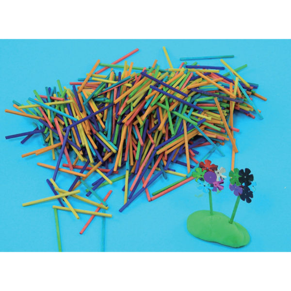 【華森葳兒童教玩具】美育教具系列-彩色火柴棒 L1-AP/408/CM