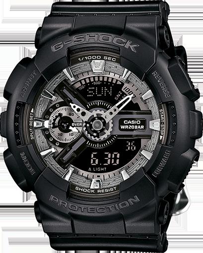 國外代購 CASIO G-SHOCK 縮小系列 GMAS110F-1A 黑玫瑰 防水 手錶 腕錶 電子錶 男女錶