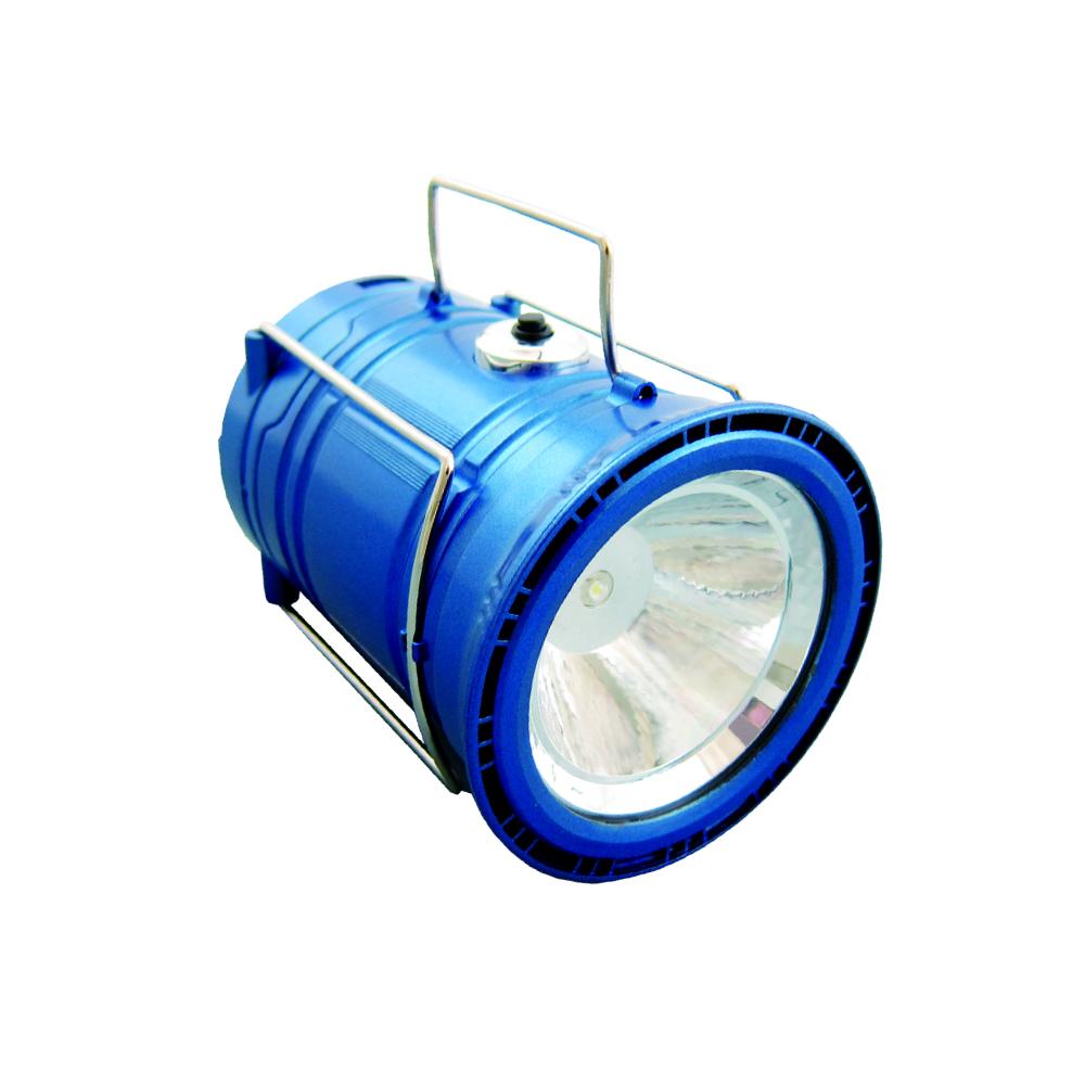 【SANSUI 山水】露營探照燈(太陽能USB充電)