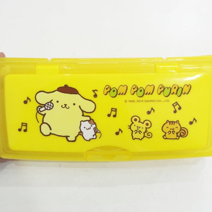 布丁狗 鉛筆盒 白板塑膠雙層鉛筆盒 置物盒 收納盒 文具 正版日本授權 * JustGirl *