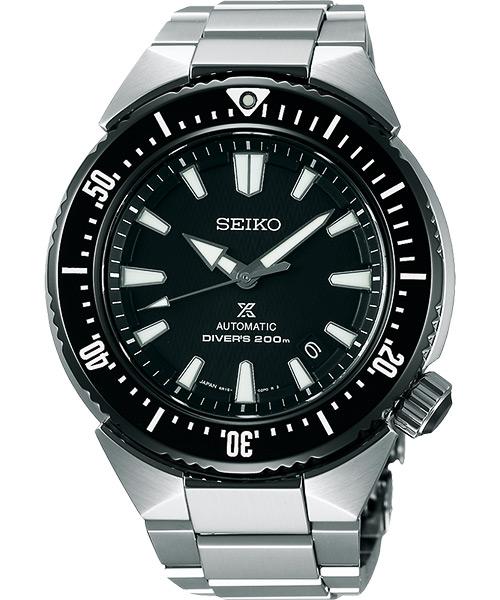 Seiko  Prospex 6R15-03G0D(SBDC039J) 新鮪魚潛水腕錶/黑面45mm