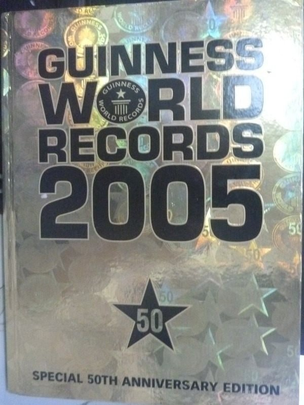 【書寶二手書T7/歷史_ZCF】Guinness World Records 2005