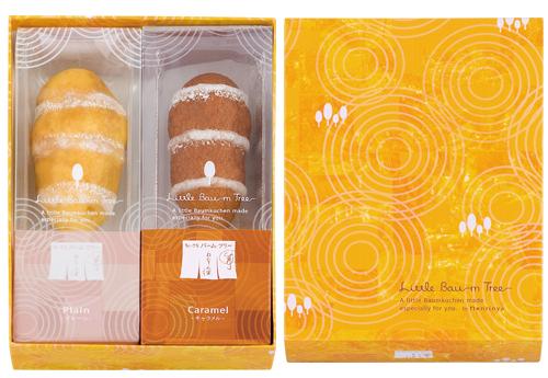 日本代購預購 空運直送 滿600免運費 年輪家熱狗棒蛋糕 年輪蛋糕棒 原味 焦糖 2口味 2入 8131