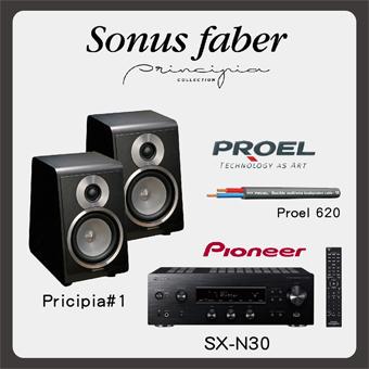 【義大利 Sonus Faber 】Pricipia#1 書架式2聲道組合