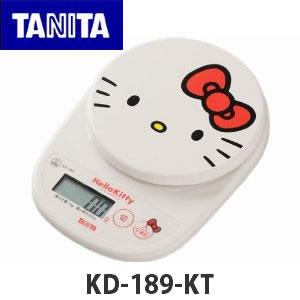 【菲比朵朵】HELLO KITTY TANITA KD-189KT 電子磅秤機 數位電子秤 烘焙料理 最大1KG (OD1135)