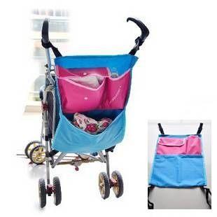 置物袋 嬰兒車防水置物袋 手推車掛袋