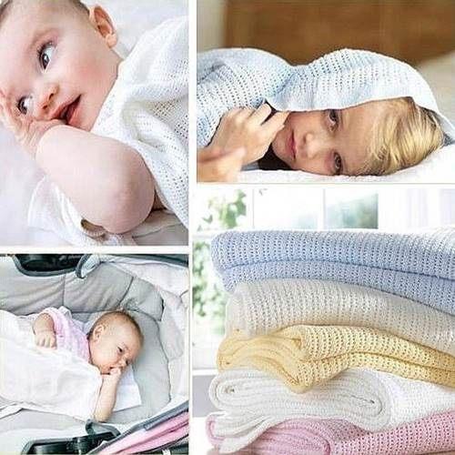 嬰兒被毯子 全棉洞洞毯嬰兒棉被 浴巾