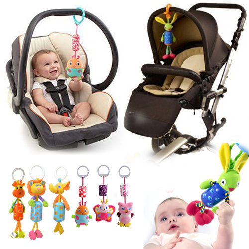 童造型風鈴玩具 兒童推車床頭玩具音樂鈴