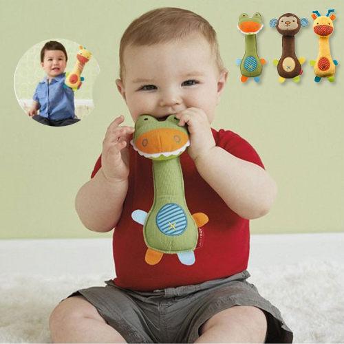 嬰兒安撫玩具 手搖鈴手抓玩具