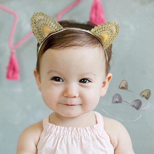 童髮帶 韓版小貓咪耳朵髮帶